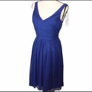 NWT J Crew Heidi Silk Chiffon Dress | Size 4 93100